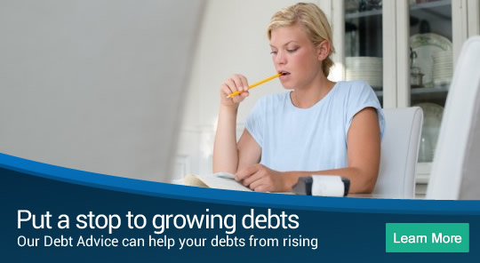 Put a stop to growing debts